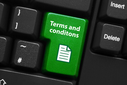 terms and conditions key