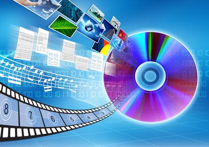 CD / DVD data storage