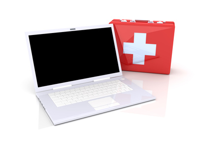 Laptop first aid kit