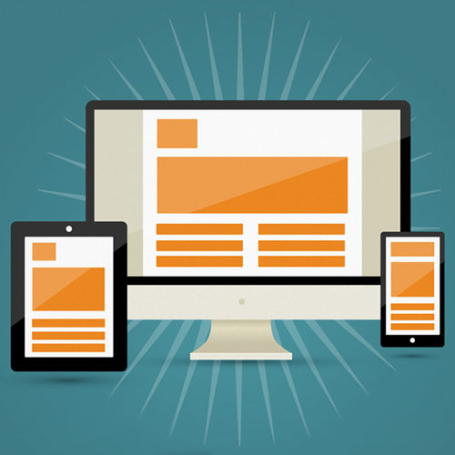 Responsive monitor and tablet, mobile