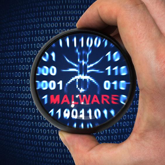 Antivirus is scanning for malware